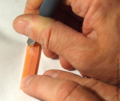 Изготовление часов методом фьюзинга