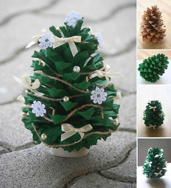16 идей изготовления новогодней елки своими руками