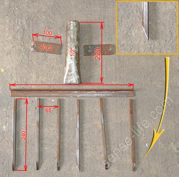 Чудо лопата (рыхлитель) своими руками