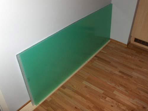 Изготовление межкомнатной двери с подсветкой