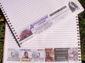 Бесплатные  рекламные тетради для студентов