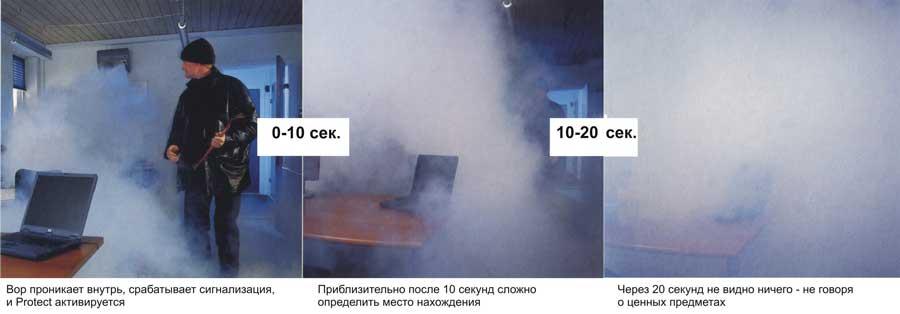 Продажа дыма для защиты от воров
