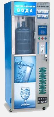 Продажа питьевой воды через торговые автоматы