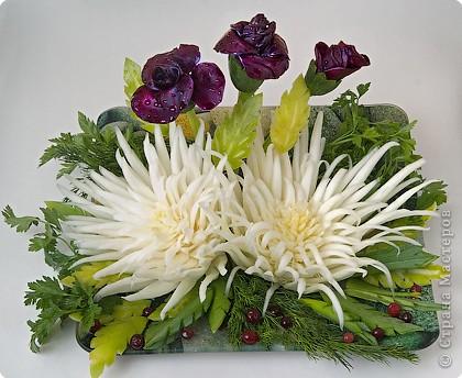Праздничный букет из капусты
