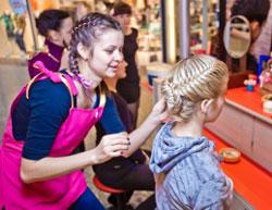 Открытие мини-студии экспресс причёсок и плетения кос