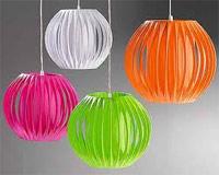 Бумажные светильники ручной работы