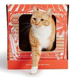 Картонные туалеты для кошек по подписке