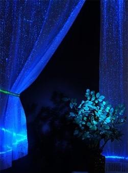 Оптоволоконная светящаяся ткань
