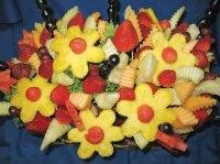 Как заработать  на букетах из фруктов
