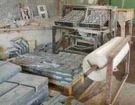 The technology of manufacture of paving slabs