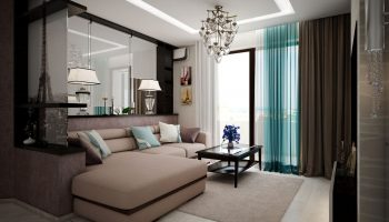 Дизайн 2-комнатной квартиры для семейной пары