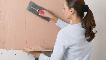 3 простых и эффективных способа шпаклевать стены под покраску