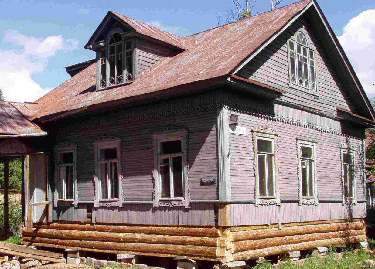 реконструкция деревянного дома фото до и после гипердесмо универсальный