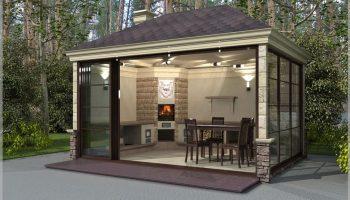 Как построить летнюю кухню на даче — не допуская ошибок