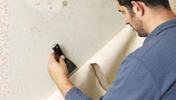 Как правильно удалить обои со стен