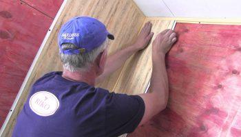 Распространенные огрехи при монтаже стеновых панелей ПВХ на каркас