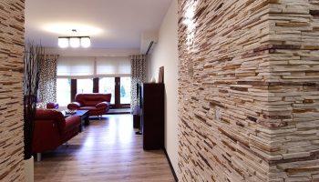Правила монтажа декоративного камня на стену