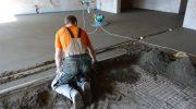 Как заливать цементно-песчаную стяжку самостоятельно