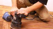 Как шлифовать и красить деревянные полы — поэтапное выполнение работ