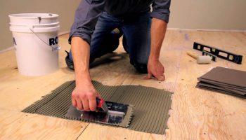 Как безошибочно положить пробковую плитку на пол самостоятельно