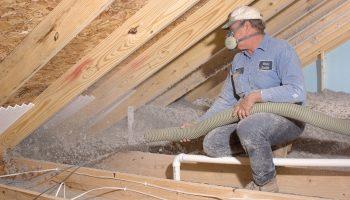 Секреты утепление дома с помощью целлюлозного волокна