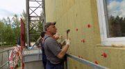 Как утеплить стены дома снаружи клеевым методом