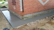 Как отмыть бетонную отмостку вокруг загородного дома