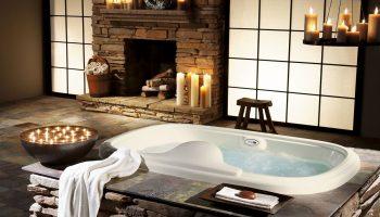 Как оформить ванную комнату в стиле SPA