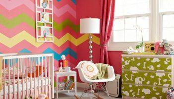 Какие сочетания цветов лучше не использовать в детской