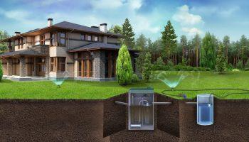 Экономим на проекте канализации в загородном доме