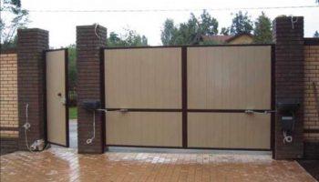 Как правильно установить гаражные ворота на загородном участке