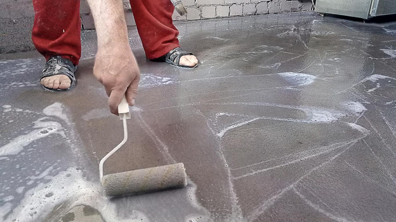 грунтовка бетонного пола жидким стеклом