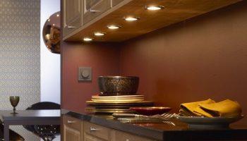 Выбираем самое удобное освещение для кухни — борьба с темнотой