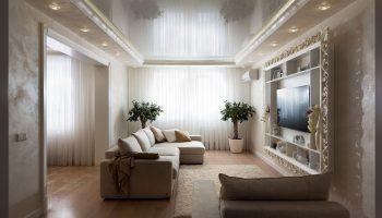 Какая отделка не подойдет для квартиры с низкими потолками