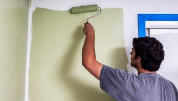 Почему для стен из бетона подойдут далеко не любые виды красок
