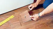 Как провести частичный ремонт пола с ламинатом