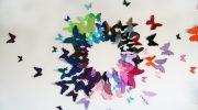 Как сделать бабочек из бумаги на стену своими руками