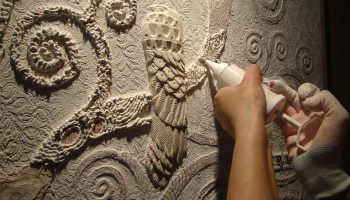 Как сделать барельеф своими руками пошагово на стену
