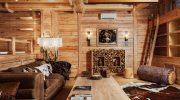 Какими средствами не стоит покрывать деревянную отделку дома