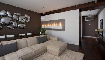 Как декорировать стены в гостиной — современный дизайн