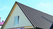 Главные недостатки крыши из профнастила