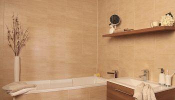 МДФ или ДСП — чем отделать стены в ванной комнате