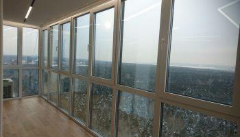 Остекление балконов и производители окон ПВХ