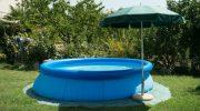 Как выбрать надувной бассейн для дачного участка