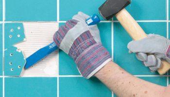 Как легко заменить треснувшую после укладки плитку