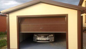 Из какого материала можно быстро поставить гараж