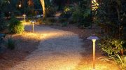 Как обустроить световую дорожку на даче