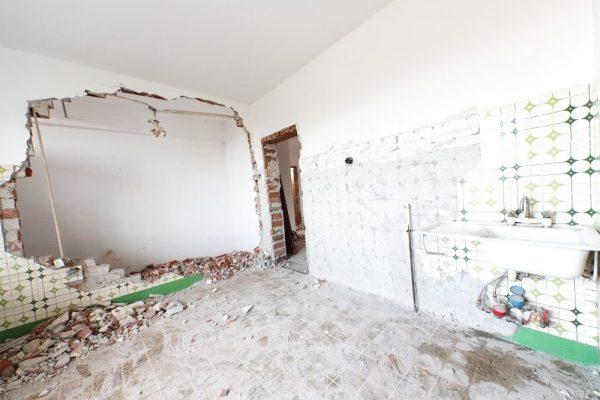 Демонтаж стены в квартире