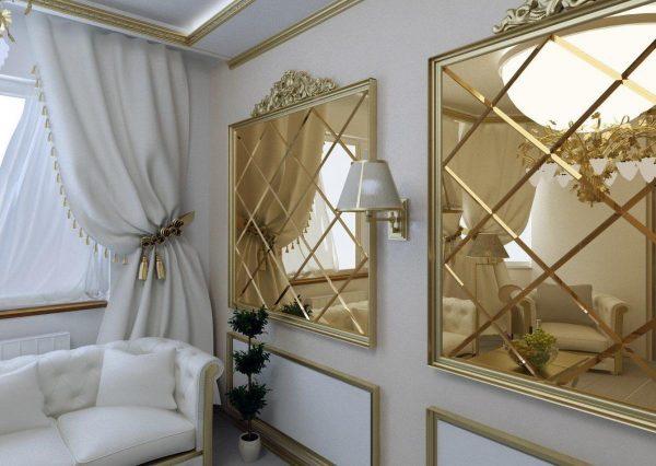 Фото зеркал в квартире