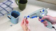 Как самостоятельно прочистить клеевой пистолет